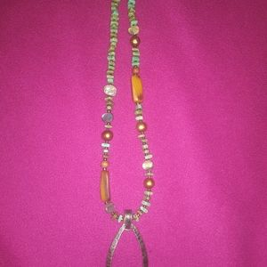 Silpada turquoise necklace